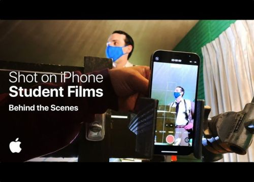 Apple shares behind the scenes of 'Shot on iPhone' student films