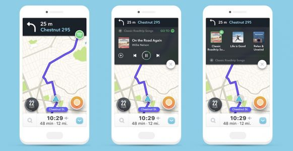 Waze Update for iOS Lets You Easily Control Spotify From Within Navigation App