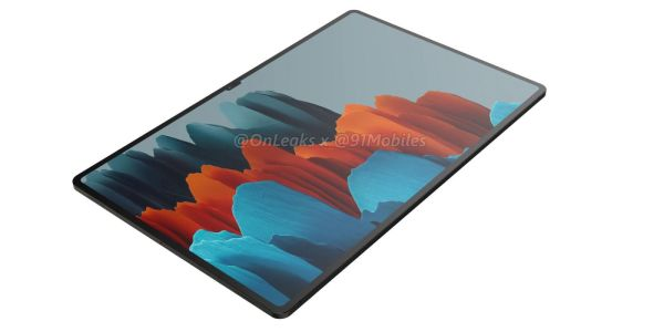 New leak shows that Samsung's 14.6-inch Galaxy Tab S8 Ultra has a ridiculous notch