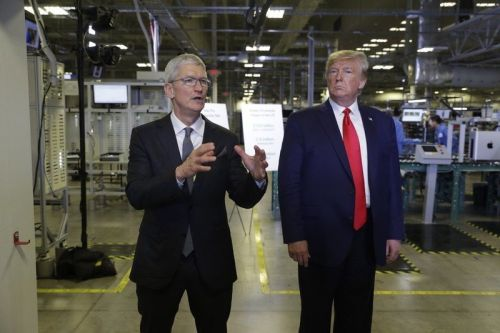Tim Cook gifted the first Mac Pro to former President Donald Trump