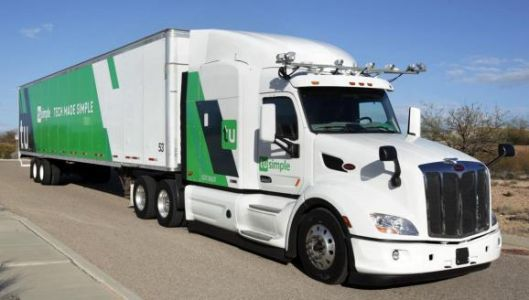 Driverless truck startup TuSimple teams up with the USPS to haul trailers between Phoenix and Dallas