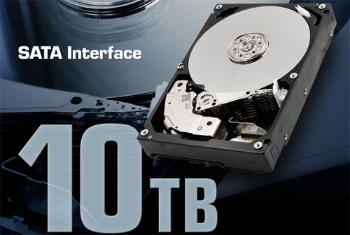 Toshiba Launches MN06ACA 10 TB HDD for NAS: 7 Platters, Up to 249 MB/s