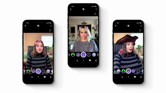 EpocCam now lets you use your iPhone as a webcam with AR Snap Lenses