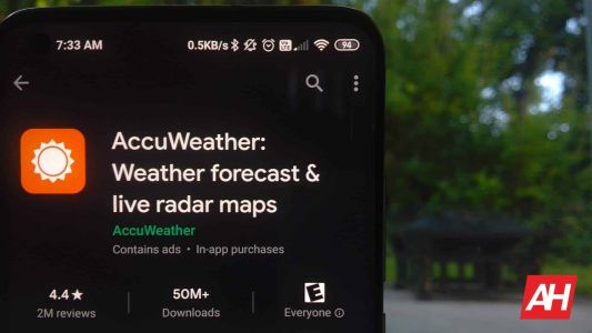 AccuWeather Released A Wear OS App, Showing People Are Still Using The Platform