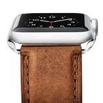 This super cool leather Apple Watch band costs just $18, 8x cheaper than an Apple Leather band