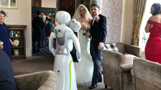 Eva the photography robot shoots her first professional wedding gig