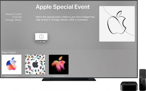 PSA: Apple's March 27 Event Won't Be Live Streamed
