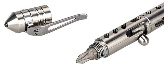 ZEROHOUR APEX Bolt Action Titanium Pen With Multi-Tool