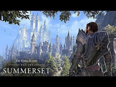 Elder Scrolls Online: Summerset - New Trailer Released