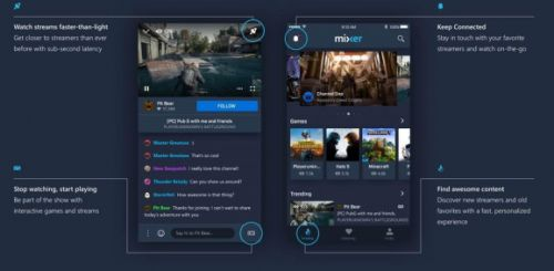 Mixer relaunches streaming app on iOS and Android