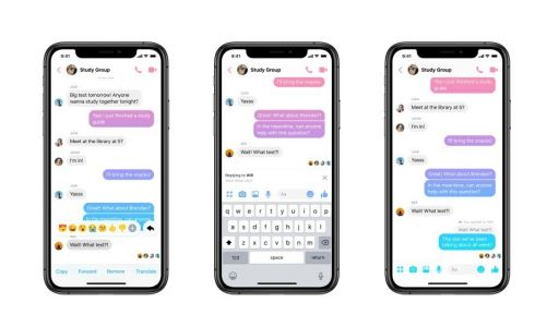 Facebook Messenger Updated With Threaded Replies
