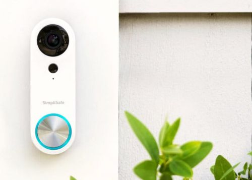 SimpliSafe smart doorbell with wide angle 1080p camera $169