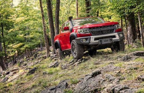 Chevy Colorado ZR2 Bison Aims for the Off-Road Crowd