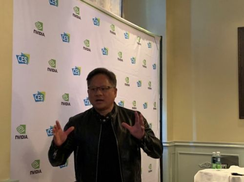 Jensen Huang interview - 'the foundations of gaming are just fine, just fantastic'
