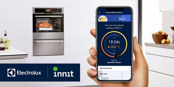 Electrolux next in line for Innit app-controlled smart ovens w. Sony projector option too