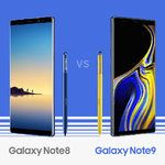Samsung infographic showcases all the minute details between the Galaxy Note 9 and the Note 8
