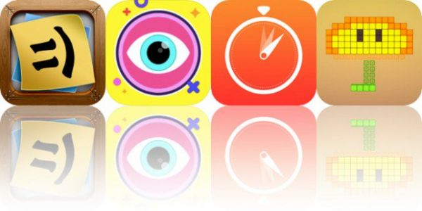 Today's Apps Gone Free: Stickyboard 2, Smash Puck, Stopwatches and More
