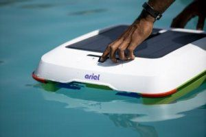 New Pool Cleaning Robot Ariel Debuts at CES 2021