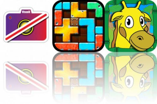 Today's Apps Gone Free: Visual, Slide Tetromino and Touch To Color