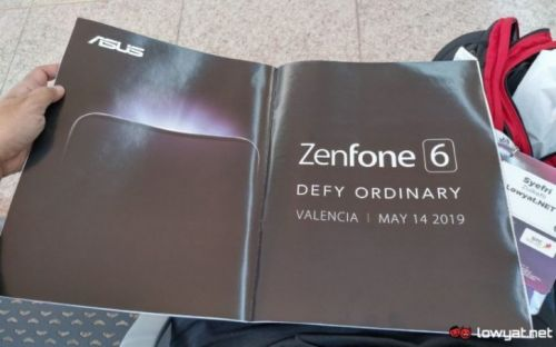 ASUS ZenFone 6 Series Coming On May 14, Invite Appears