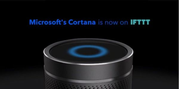 Microsoft's Cortana Now Available On IFTTT