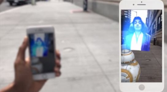 AiFi's Holo Messenger lets your iPhone make holographic selfies