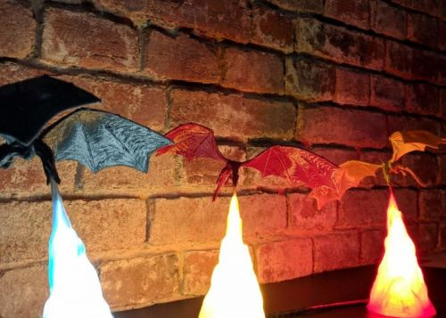 Game of Thrones inspired Dragon Lamp