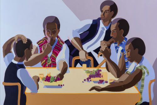 The Grand Canvases of Nirit Takele's Ethiopian-Israeli Experience