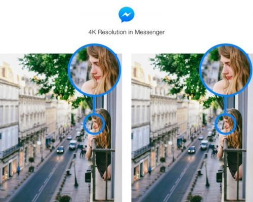 Facebook Messenger Now Supports Even Higher Resolution Images