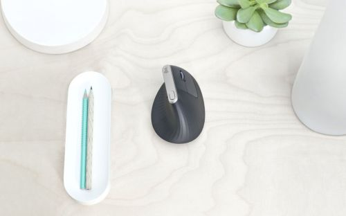 Logitech gets into the vertical mouse game with the MX Vertical