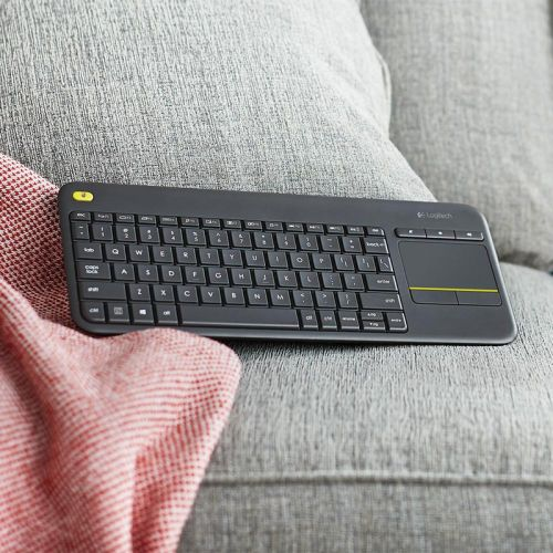 This $18 K400 Plus wireless keyboard adds convenience to your living room