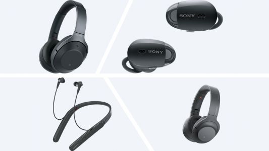 Sony's new range of headphones take noise cancelling to next level