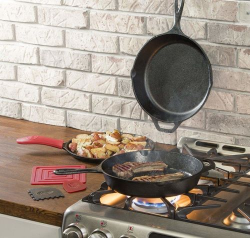 Lodge is quality cast iron, super cheap for a limited time!