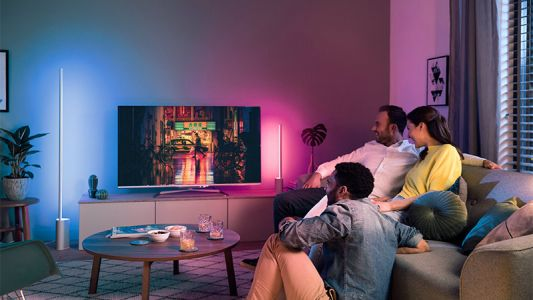 New Philips Hue lighting kits bring boring walls to life