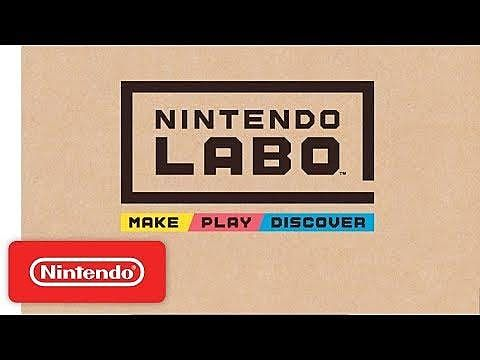 Nintendo Labo Combines Arts and Crafts With Toys-to-Life