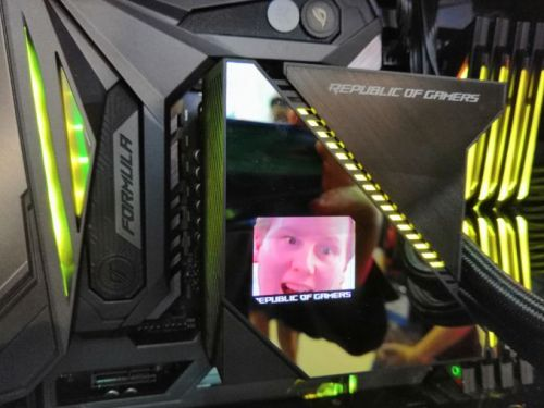 My Face on a CPU Cooler: Two Minutes with ASUS' Ryujin CLC
