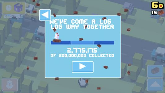 'Crossy Road' Hits 200 Million Downloads, Celebrates by Challenging Players to Unlock a Limited Edition Chicken