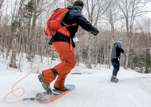 Mundo Trailboards snowboards designed for hiking