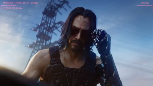 Keanu Reeves is making a Cyberpunk 2077 movie 'much more of a possibility'