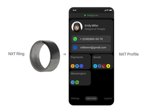 NXT Ring offers NFC payments, passwords, logins and more