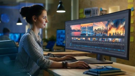 Dell Introduces World's First 49-Inch Curved Ultra-Wide Monitor With 5120x1440 Resolution