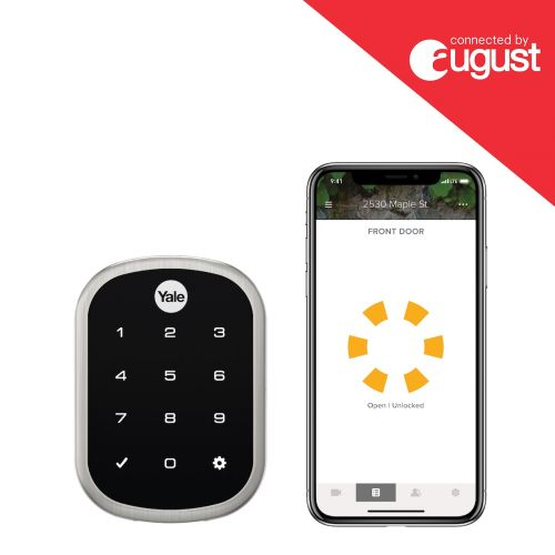 Yale and August Launch New HomeKit-Compatible Smart Keypads