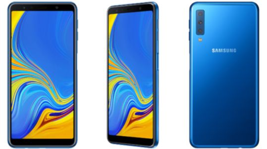 Samsung Has Launched Its First Triple Camera Smartphone, The Galaxy A7