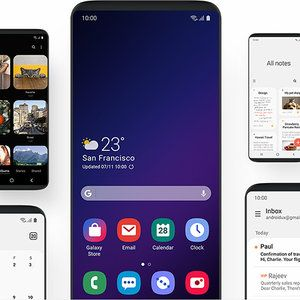 Samsung One UI allows you to lock your home screen layout