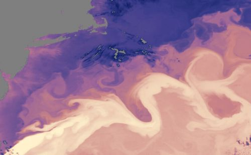 Atlantic currents seem to have started fading last century
