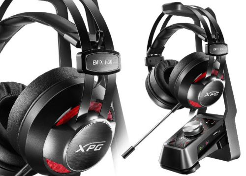 New ADATA XPG EMIX Gaming Headsets And SOLOX F30 Amplifier Unveiled