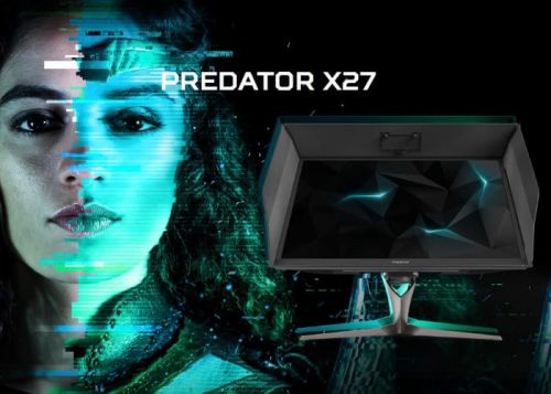 Acer Predator X27 4K HDR G-Sync Monitor Launches For $2,000