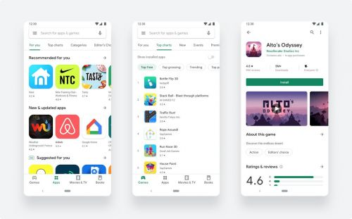 The new Google Play Store design will make it easier to browse apps