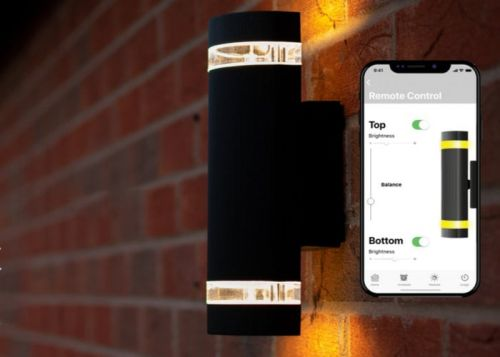 Lucifi outdoor wireless smart light with smartphone control