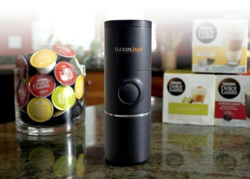 HandyJava portable capsule coffee machine